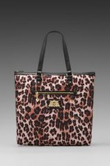 Juicy Couture Malibu Nylon Tote in Black - Lyst