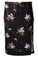 N° 21 Embroidered Skirt - Lyst