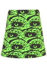 Topshop Green Ghoul Girl Skirt - Lyst