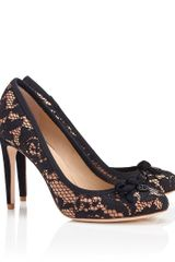 Tory Burch Lace Phoenix Pump - Lyst