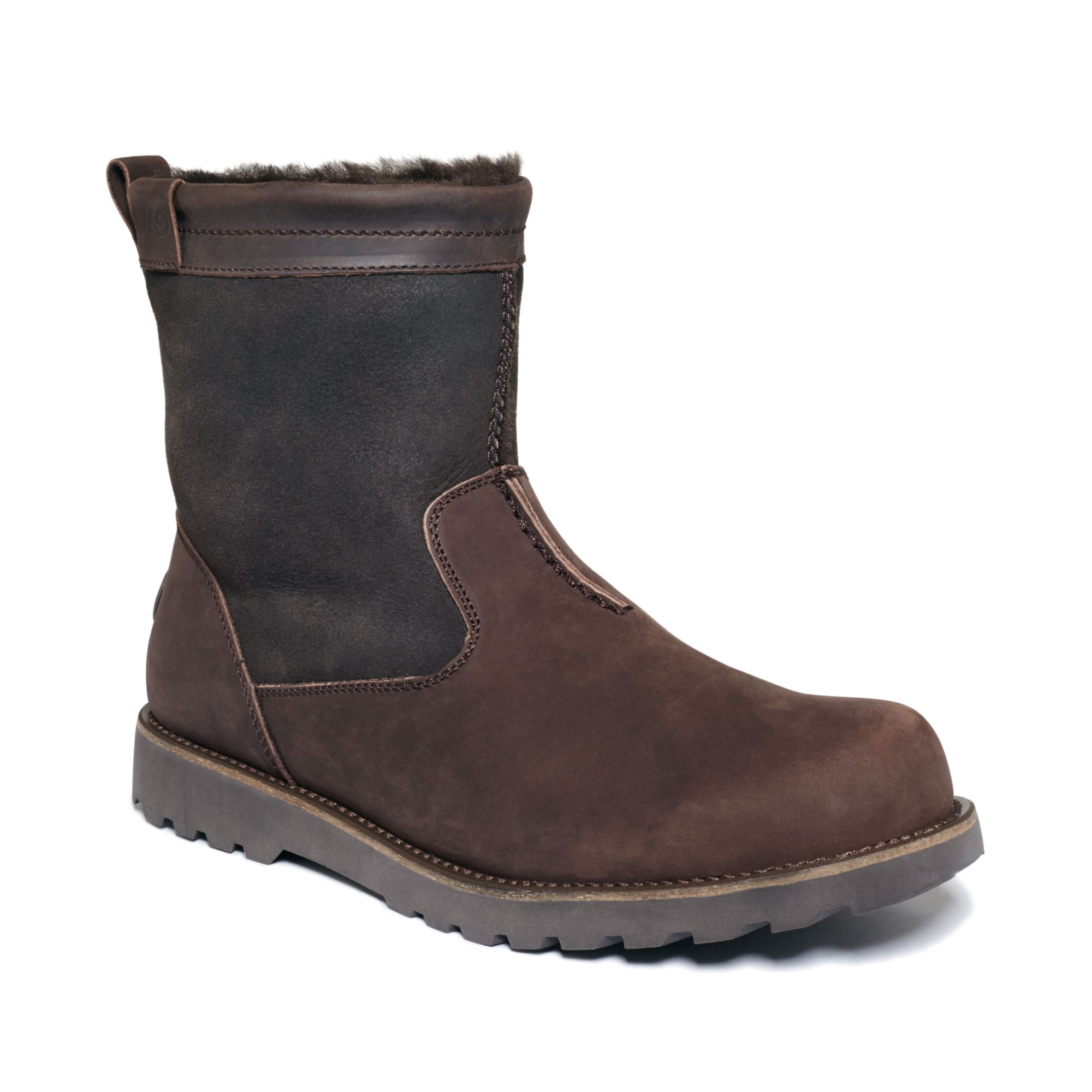 emu shoes degarra boots in brown for chocolate lyst