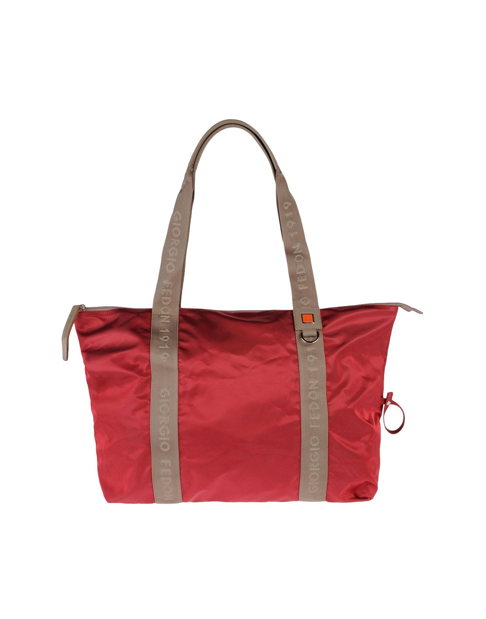 Giorgio fedon Large Fabric Bag in (Garnet)