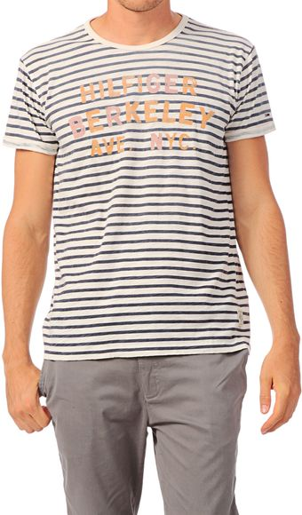 Hilfiger Denim Short Sleeve Tshirt - Lyst