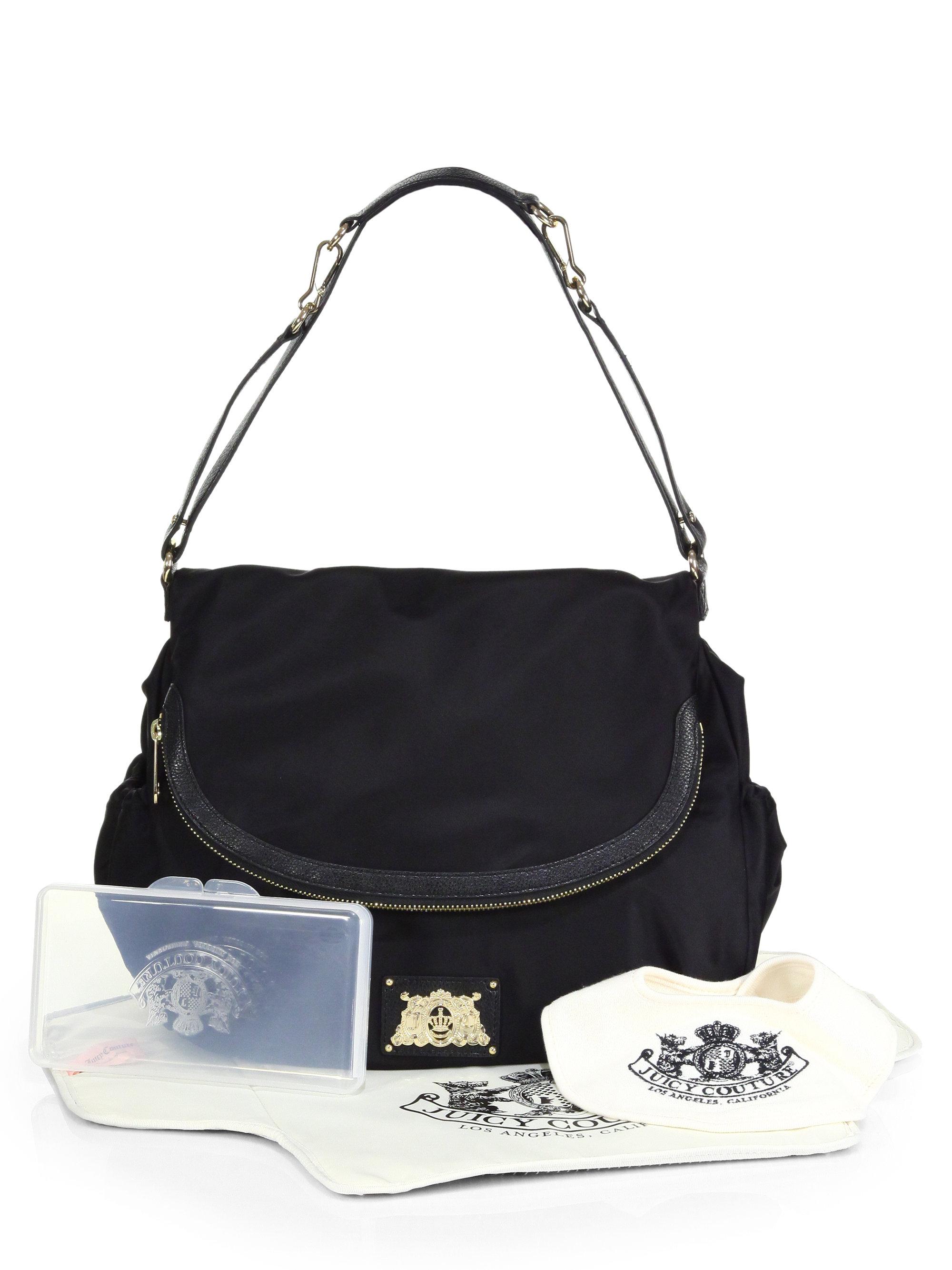 Lyst Juicy Couture Malibu Baby Bag in Black