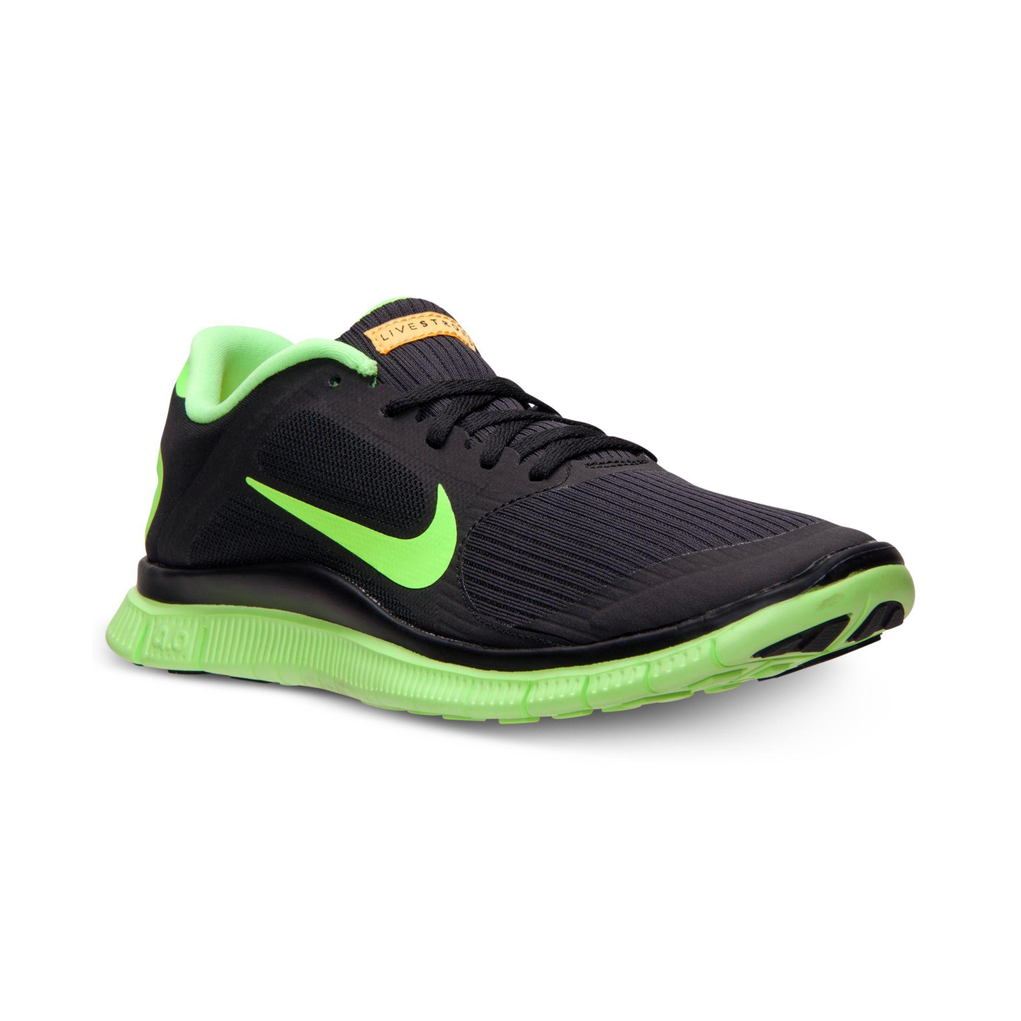 Hommes Nike Free 4.0 V3 Chaussures De Course Bracelets Livestrong