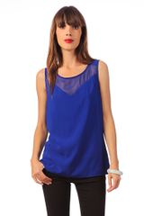 Object Collectors Item Short Sleeve Top Marite Tanktop 69 - Lyst