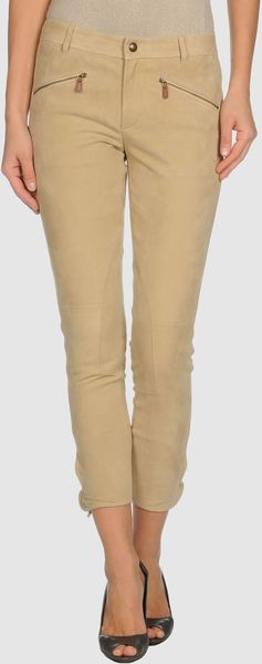 Ralph Lauren Leather Pants - Lyst