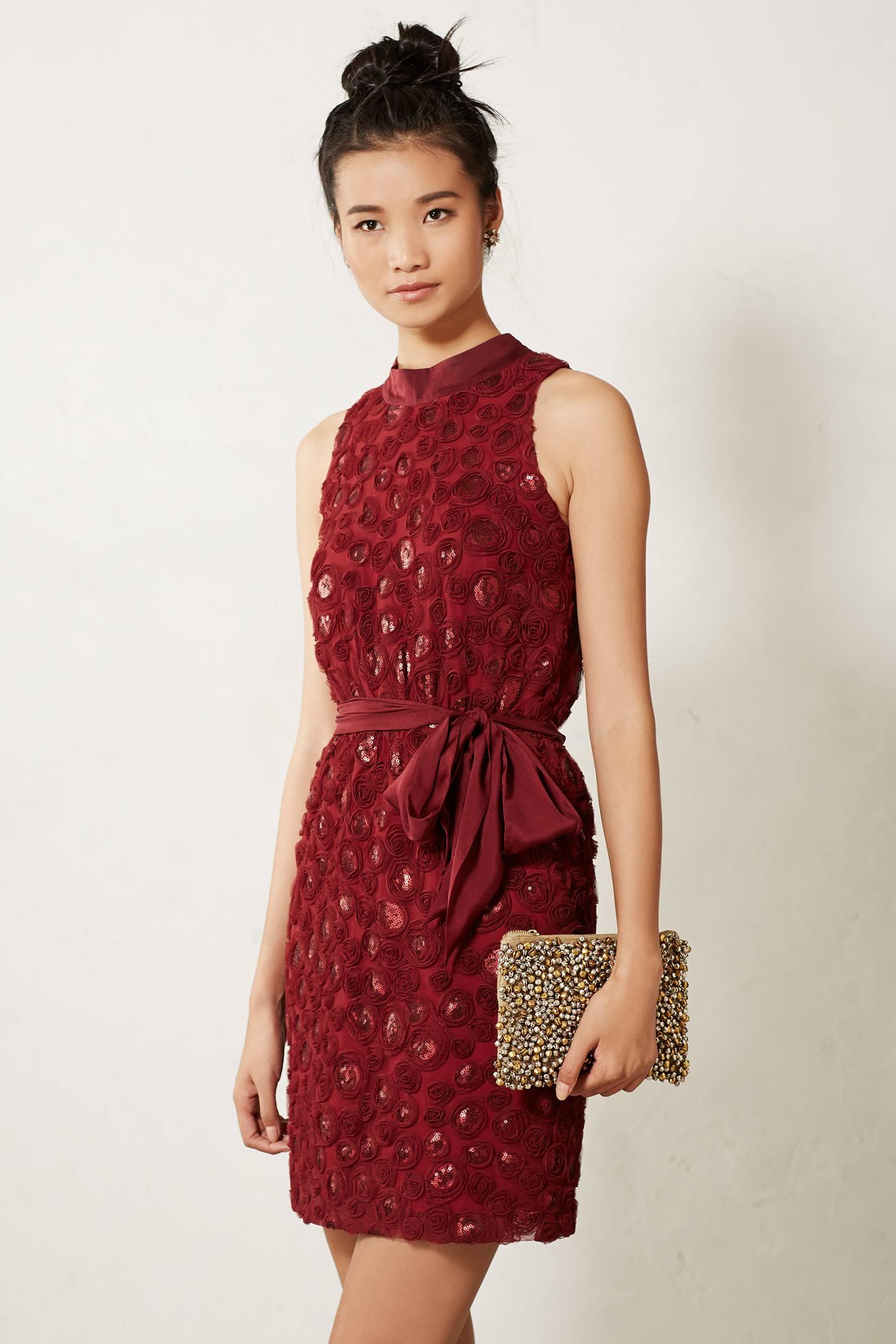 Lyst Sachin & Babi Sequin Cutout Dress in Red