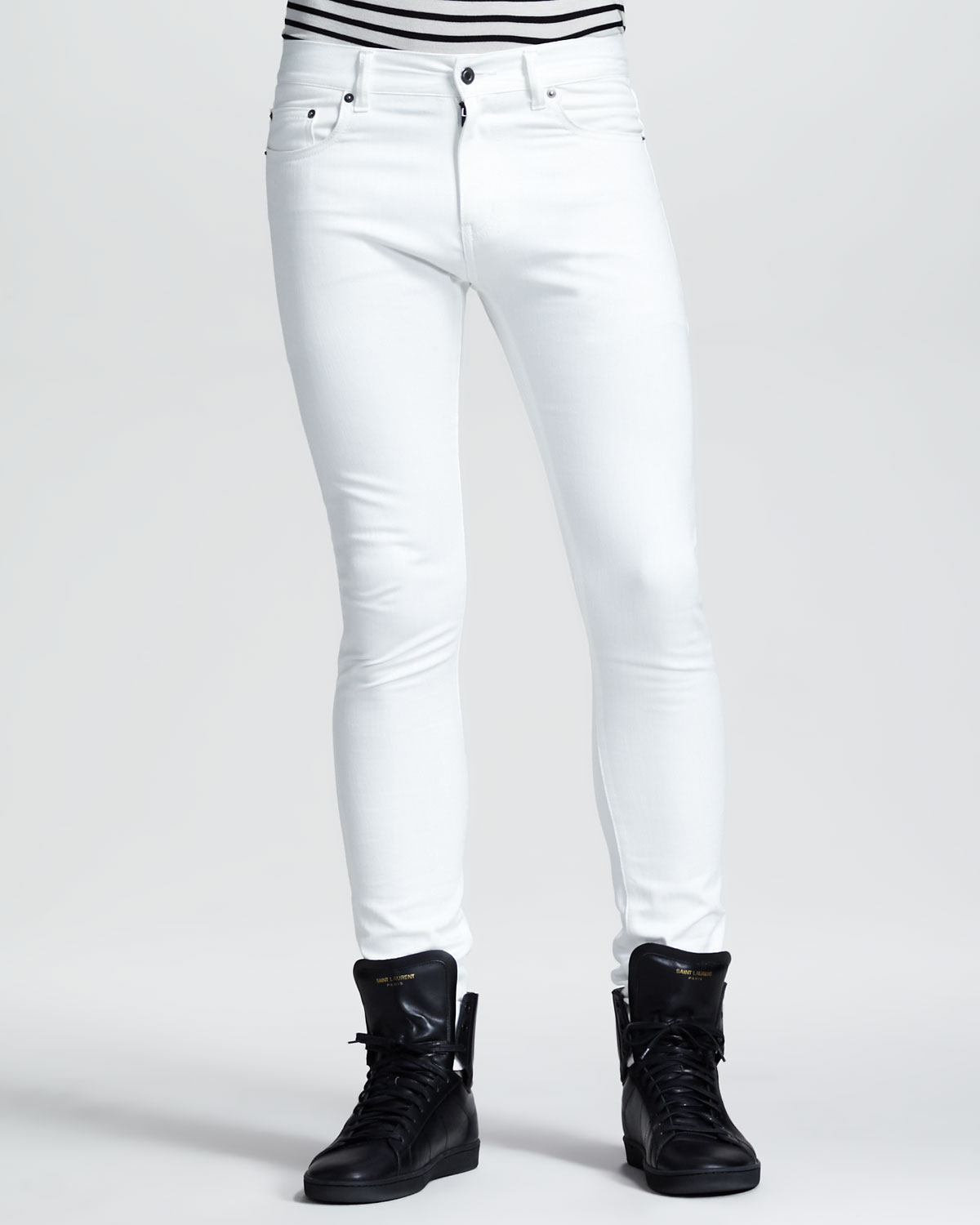 American Eagle White Jeans Men