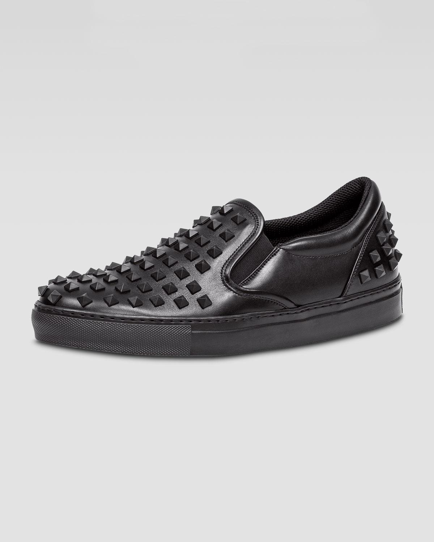 Rockstud slip-on pumps - Black Valentino IXI6Z