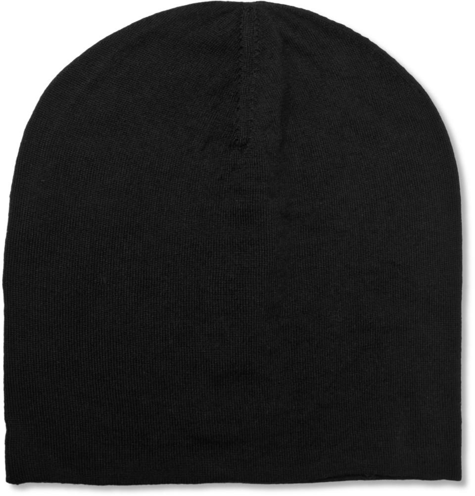 907d2b4d4673 Lyst - Acne Studios Nils Merino Wool Beanie Hat in Black .