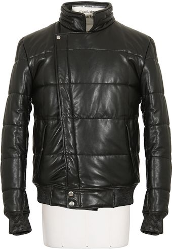 Alexander McQueen  Leather Jacket - Lyst