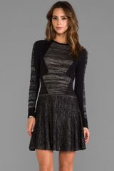BCBGMAXAZRIA Jennings Dress in Black - Lyst