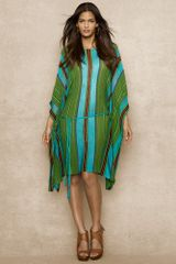 Blue Label Striped Multiknit Caftan - Lyst