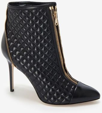 Brian Atwood Quilted Leather Bootie  - Lyst