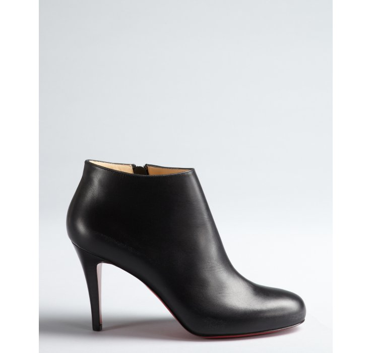 christian louboutin belle 85 leather ankle boots