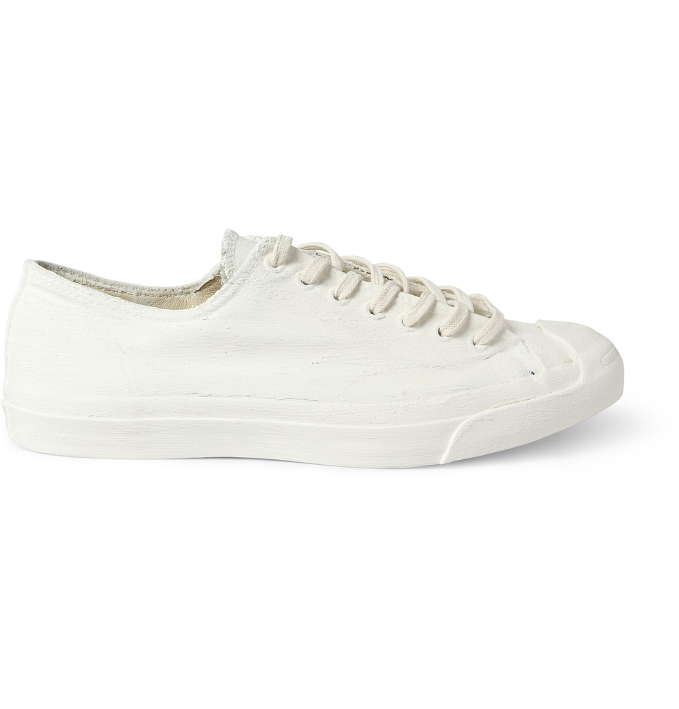 276a8808526a Converse Navy Maison Martin Margiela Jack Purcell Painted Sneakers ...