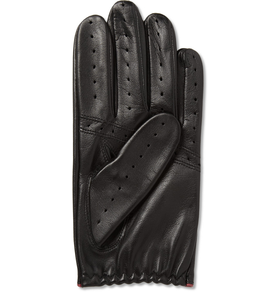 Leather driving gloves dents - Gallery