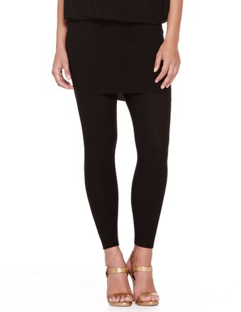 Donna Karan New York Jersey Ankle Leggings - Lyst