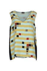 Fendi Top Geometric Print - Lyst