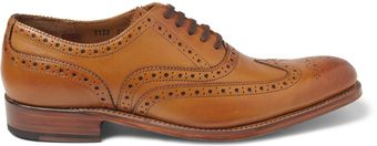 Grenson Dylan Leather Wingtip Brogues - Lyst