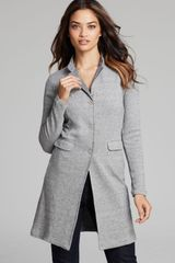 Majestic Tweed Houndstooth Jacket - Lyst