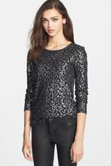 Marc By Marc Jacobs Sasha Foiled Tee - Lyst