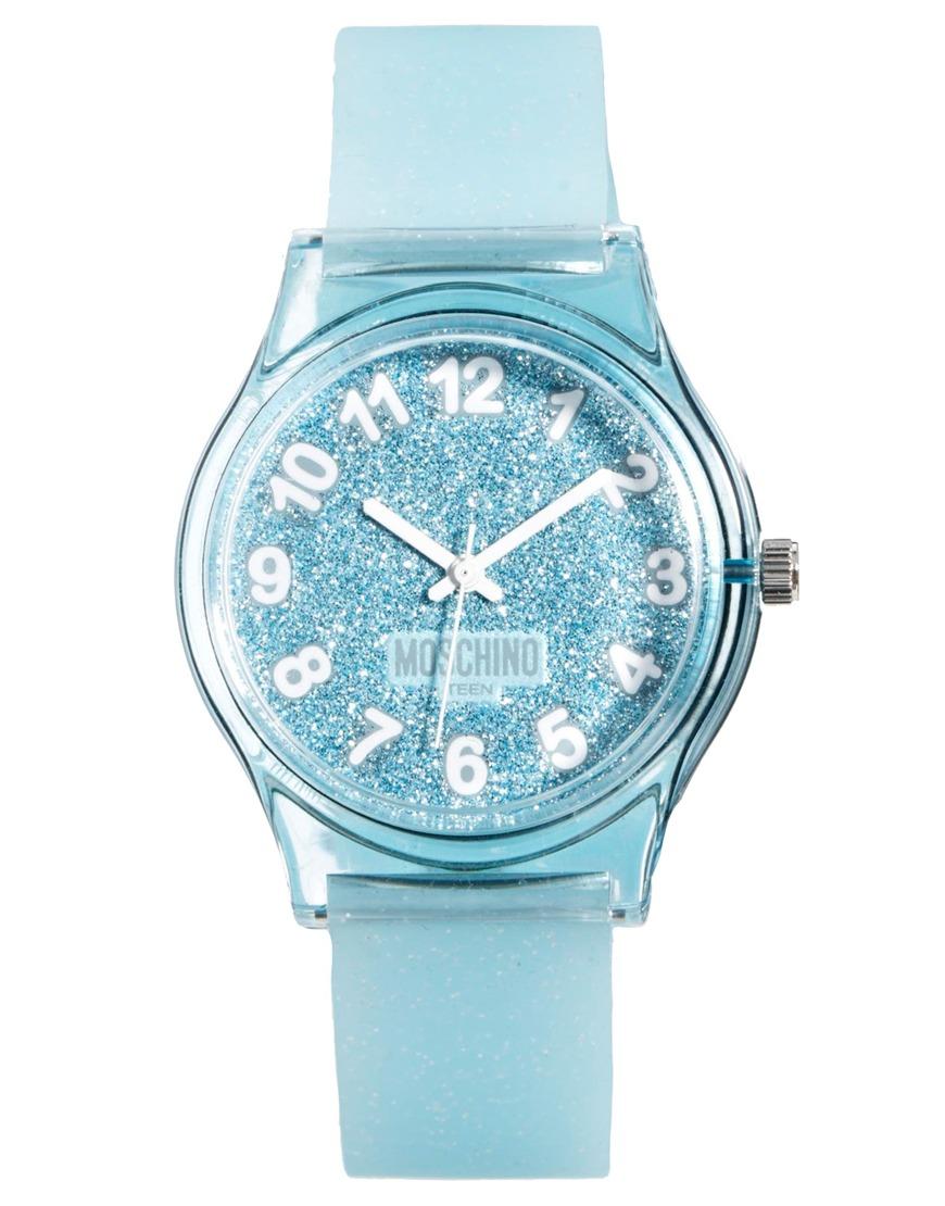 Lyst - Boutique Moschino Wrist Watch in Metallic