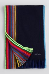 Paul Smith Scarf - Lyst