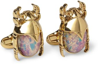 Paul Smith Metal Beetle Cufflinks - Lyst