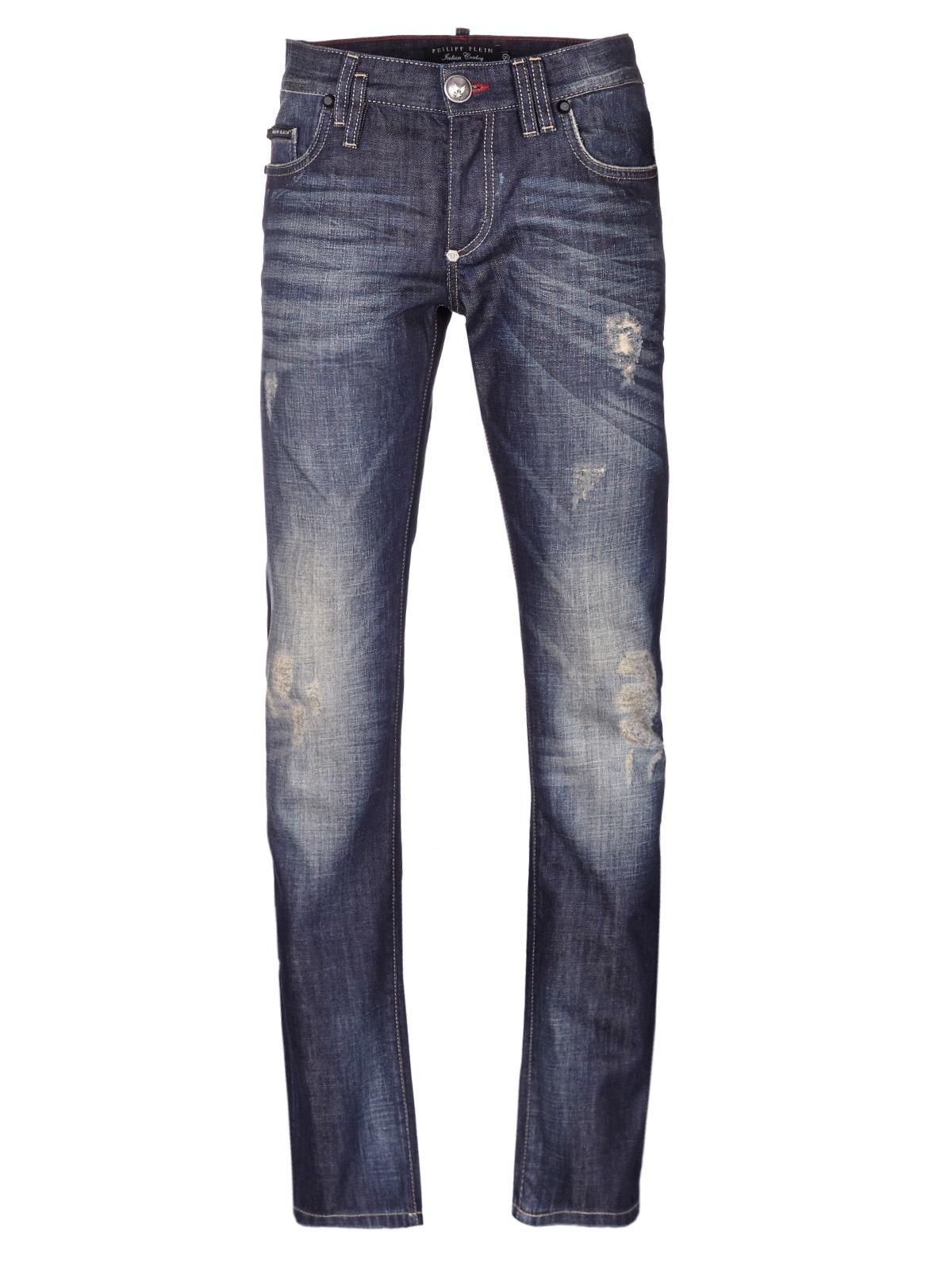 philipp plein jeans in blue for men lyst. Black Bedroom Furniture Sets. Home Design Ideas