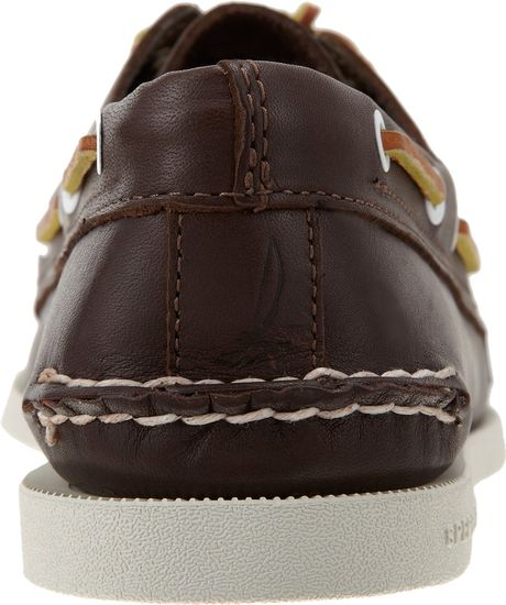 sider Authentic Original Three Eye Boat Shoe In Brown For Men Lyst