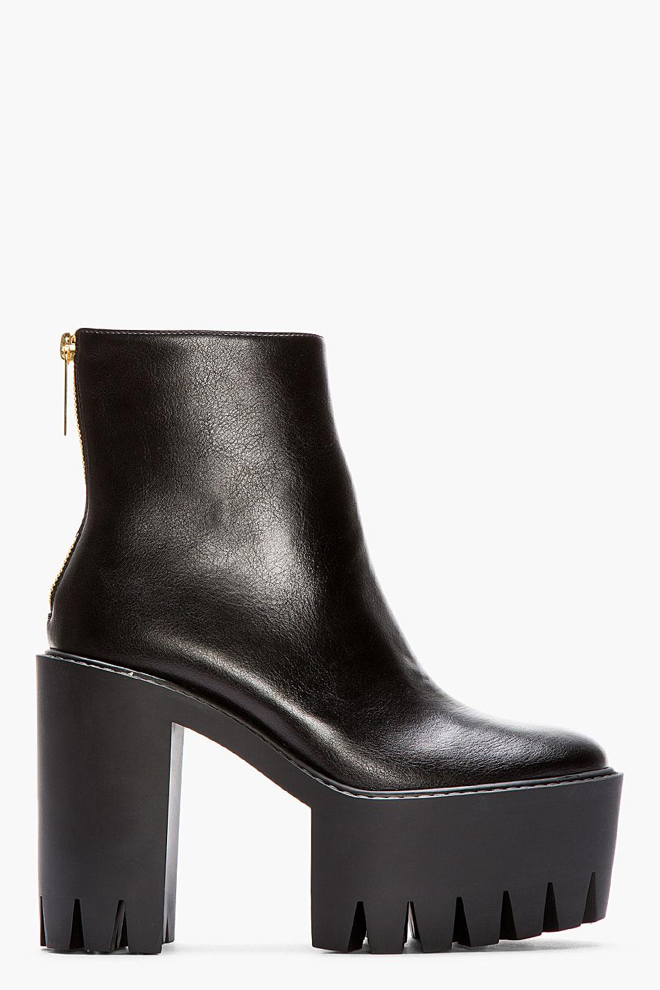 Stella mc cartney Leather Ankle Boots Clearance Shop djAdUK
