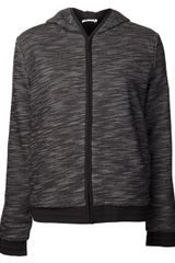 T By Alexander Wang Zip Up Jacket - Lyst