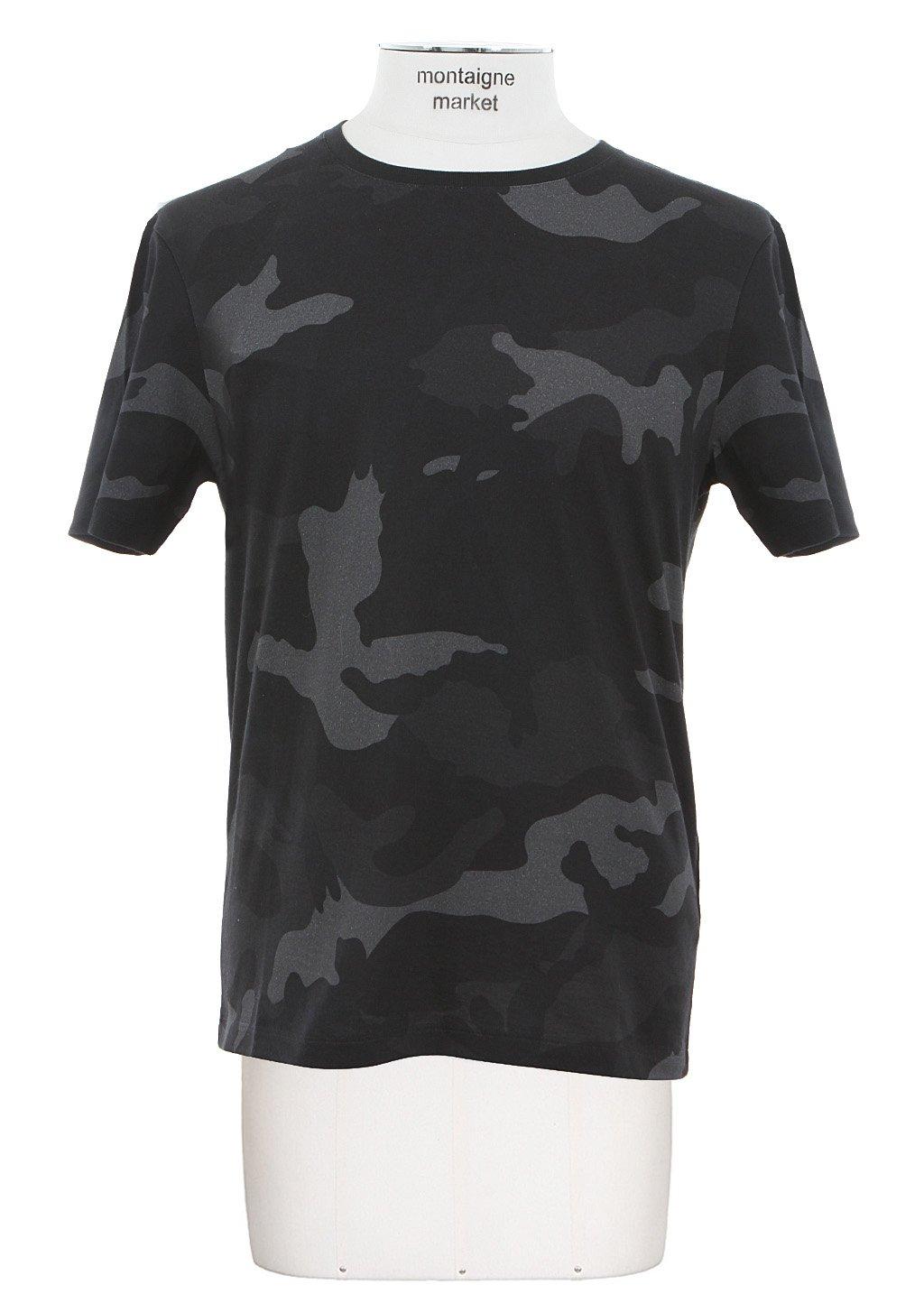 River Island Print T Shirt Grey Women