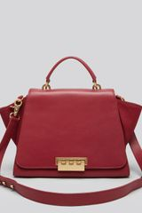 Zac Zac Posen Satchel Eartha Soft Top Handle - Lyst