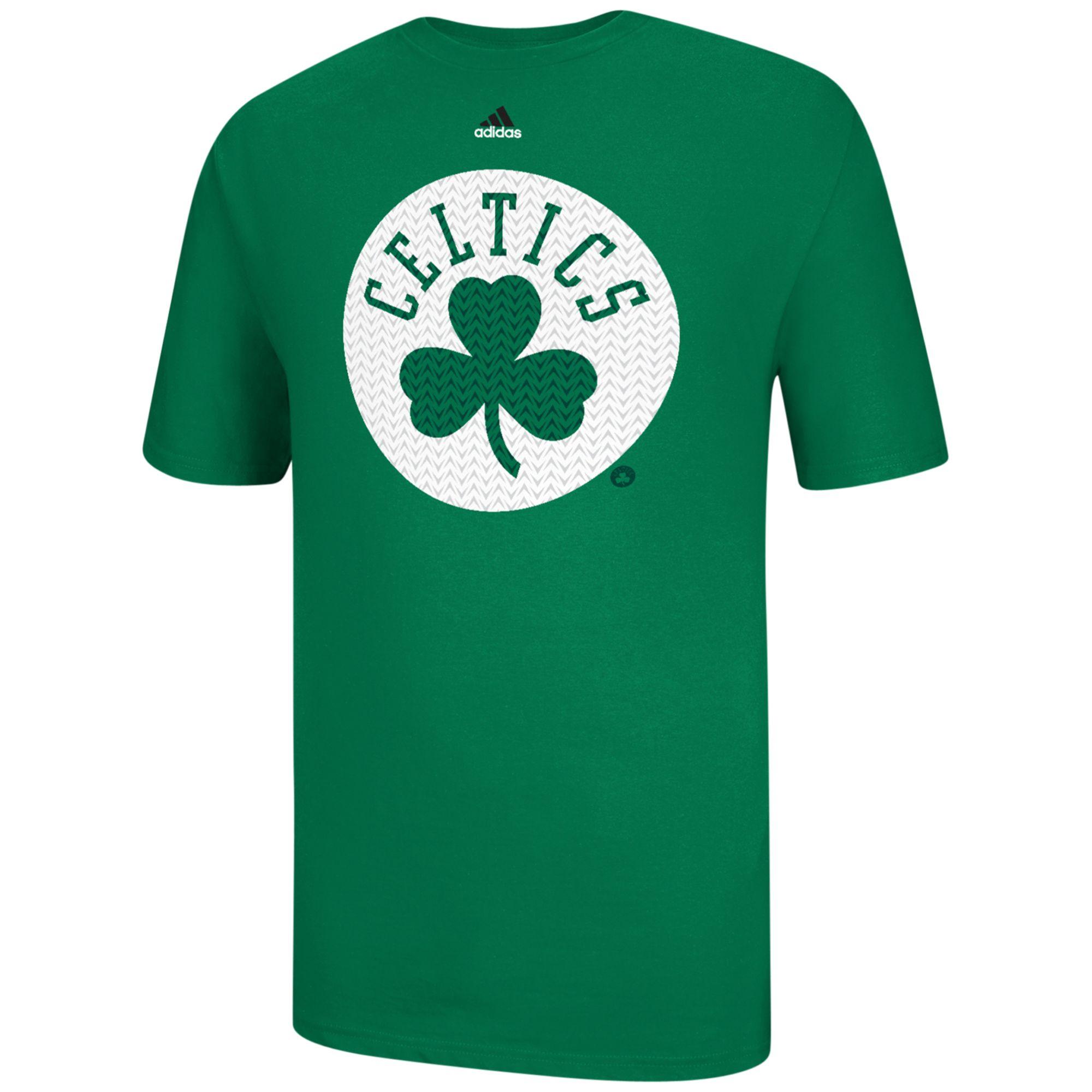 Adidas Men 39 S Short Sleeve Boston Celtics Go To T Shirt In