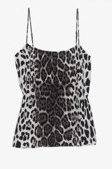 Equipment Leopard Print Silk Cami - Lyst