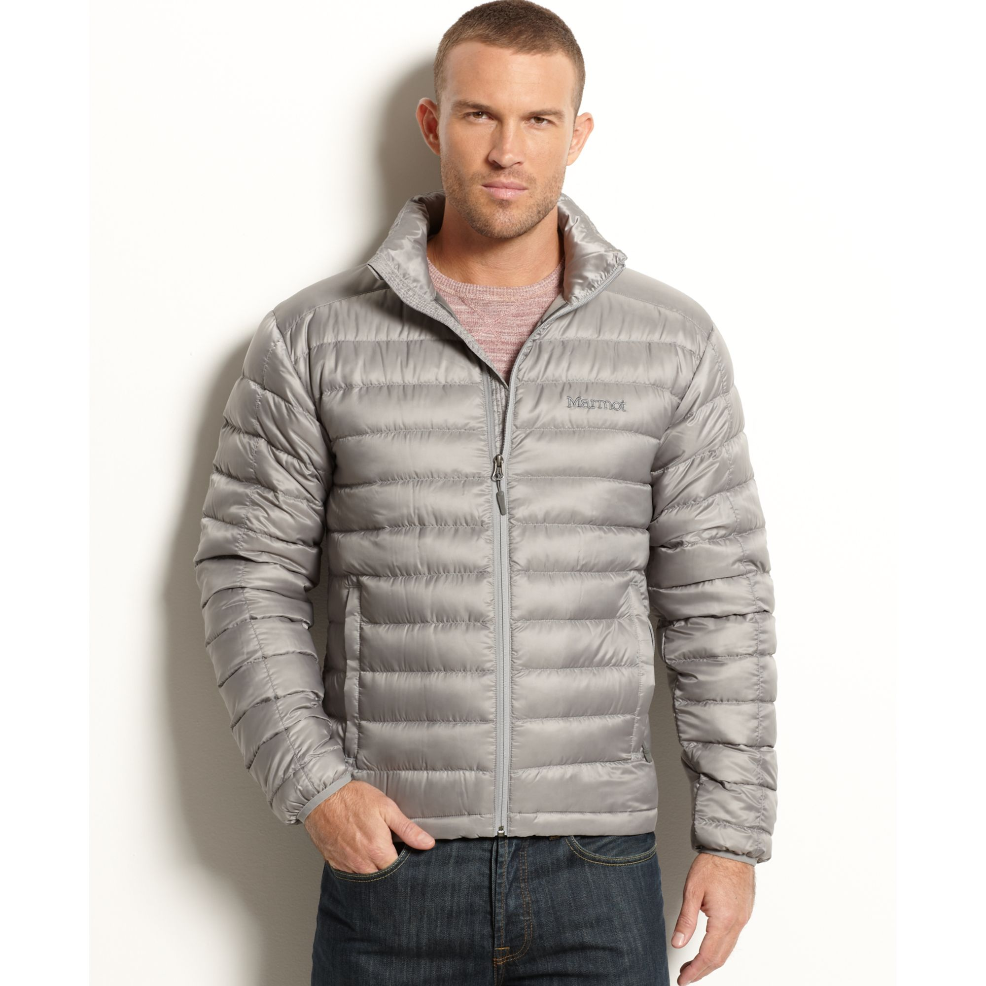 Lyst - Marmot Zeus Quilted Down Packable Puffer in Metallic for Men : marmot quilted jacket - Adamdwight.com