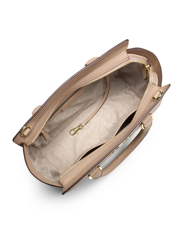 Michael Kors Selma Medium Laukku : Michael kors medium selma topzip satchel in