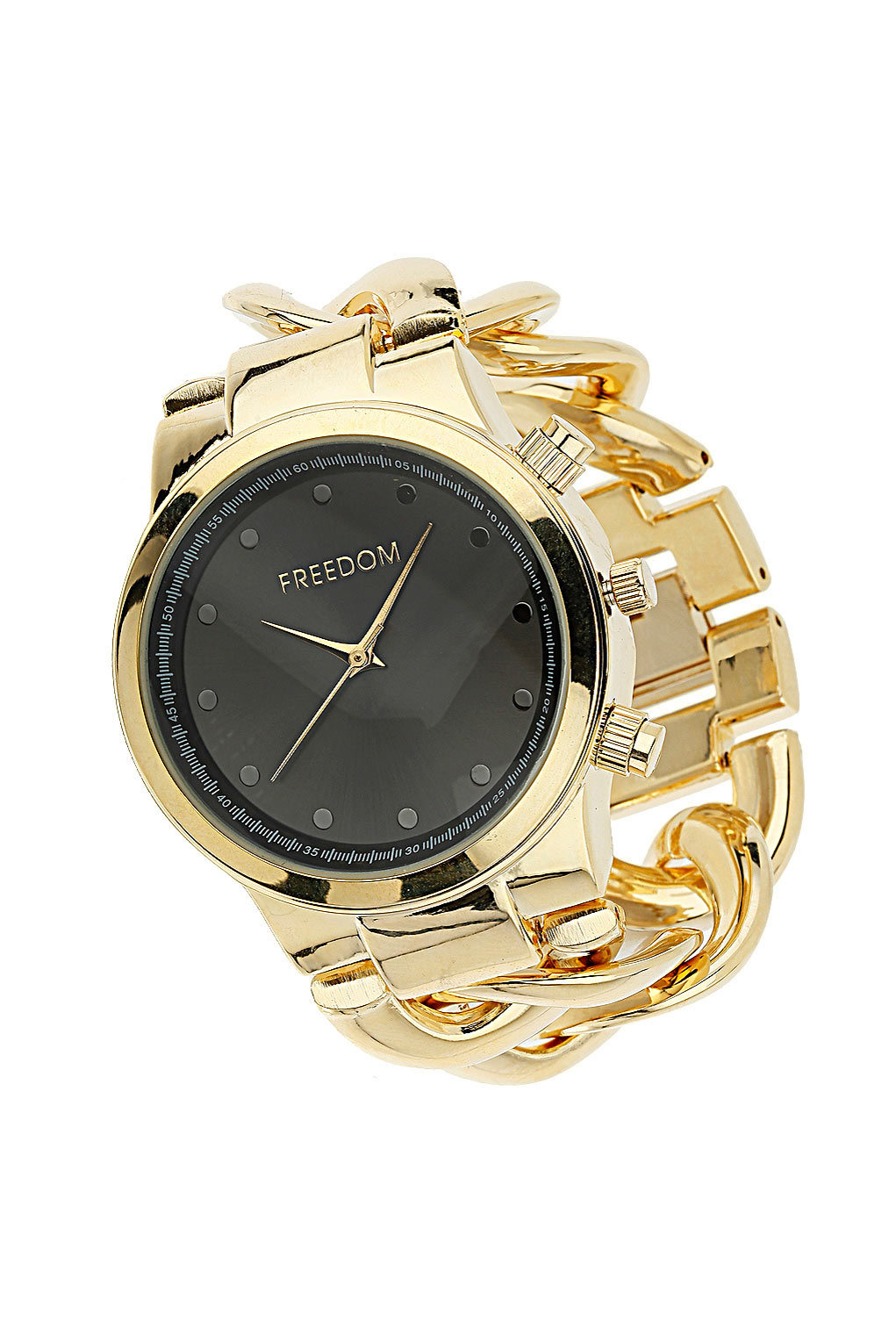 chain metal en titan regalia date watches watch gold in men