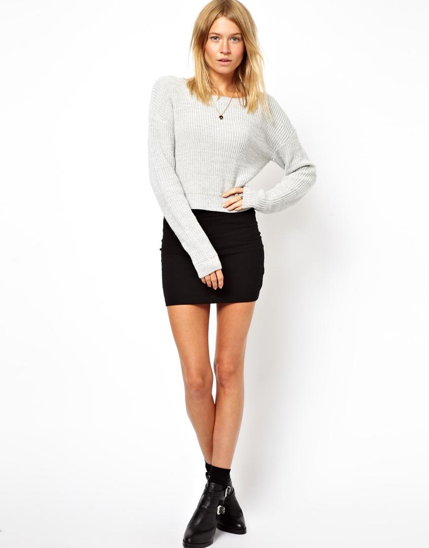 Black Micro Mini Skirt 25