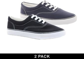 Jeffery West Asos Sneakers 2 Pack  - Lyst