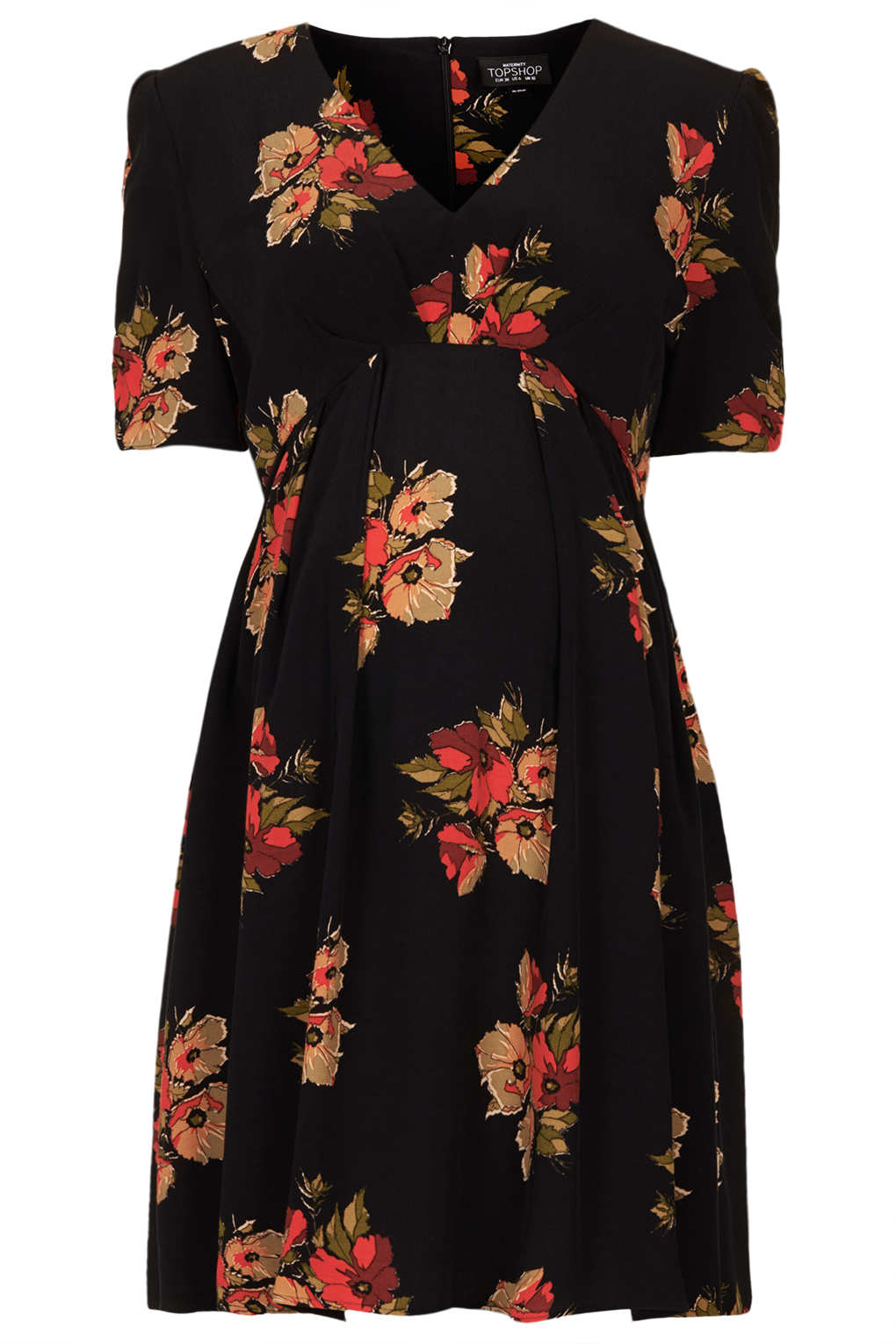 Lyst topshop maternity autumn floral tea dress in black gallery womens tea dresses ombrellifo Image collections