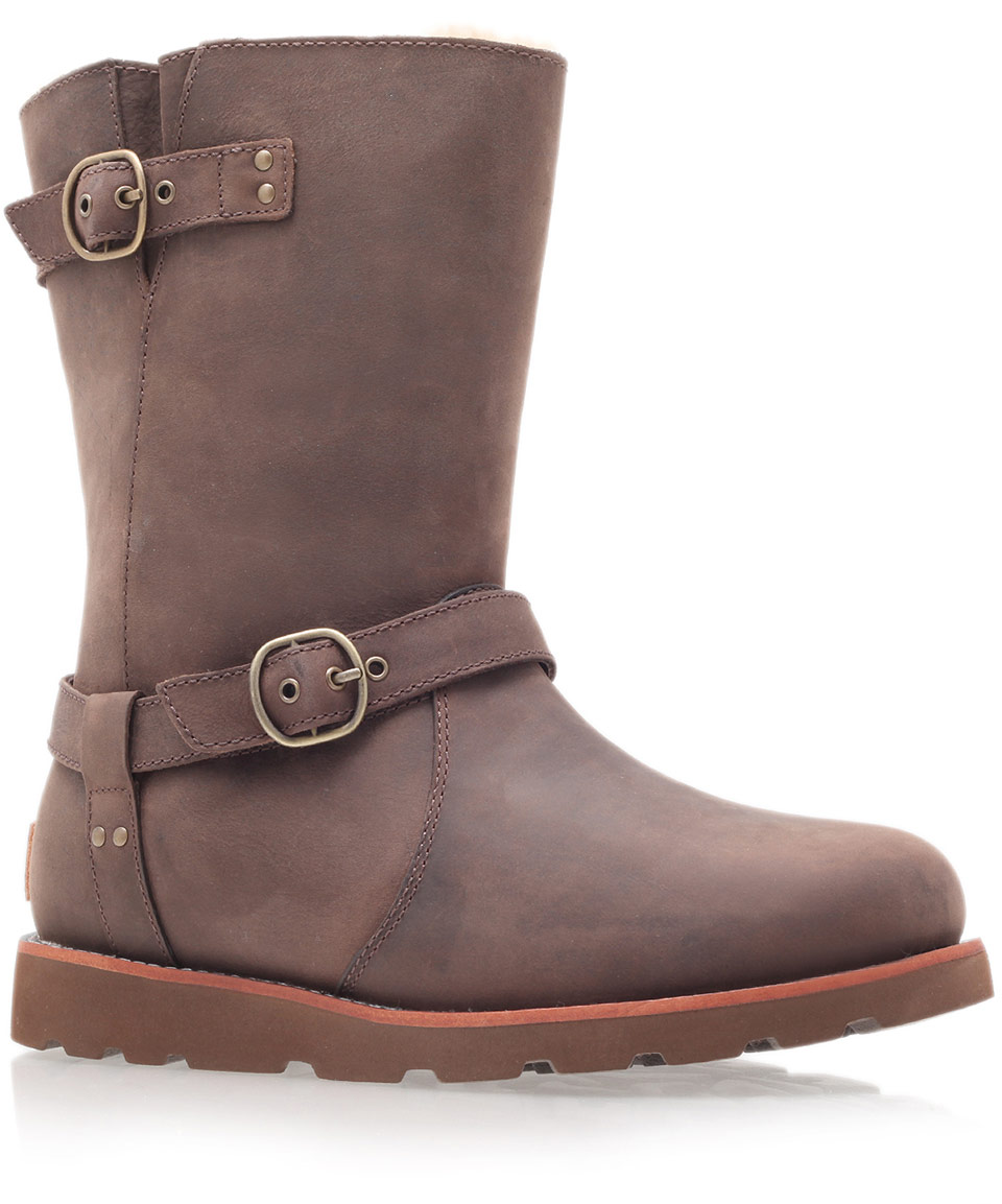 9f3b4b2a694 Black And Brown Leather Ugg Boots - cheap watches mgc-gas.com