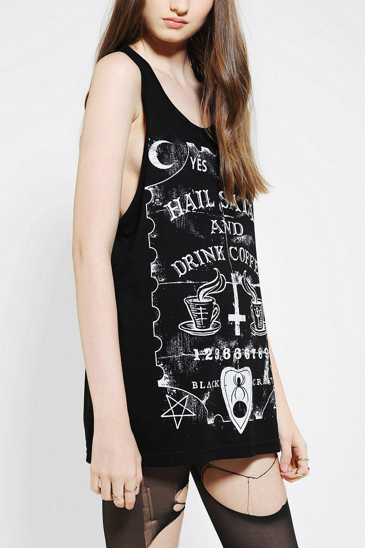 Lyst Urban Outfitters Black Craft Satan Coffee Muscle