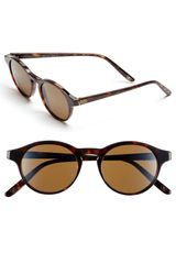 Bottega Veneta 49mm Retro Sunglasses - Lyst