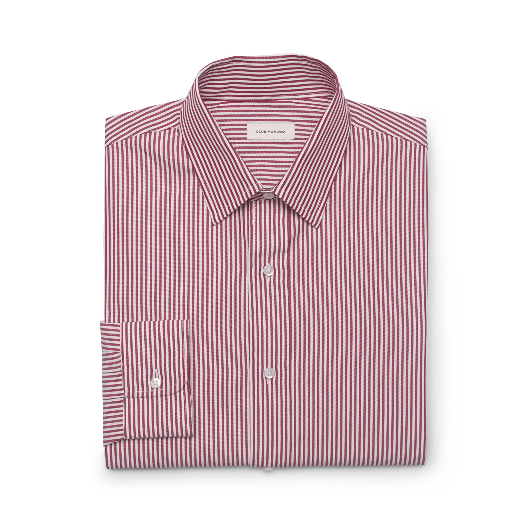 club monaco made in the usa dress shirt in purple for men