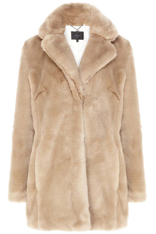 Coast Penelope Fur Coat in Natural | Lyst