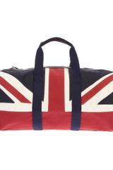 Hackett Union Jack Duffle Bag - Lyst